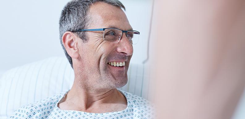 Zufriedener Patient der Beckerklinik
