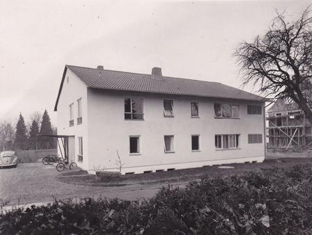 Beckerklinik im Jahr 1953