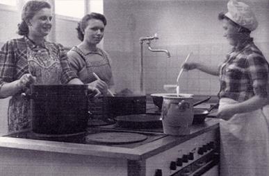 Ehemalige Küche der Beckerklinik