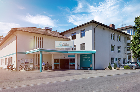 Eingang der Beckerklinik