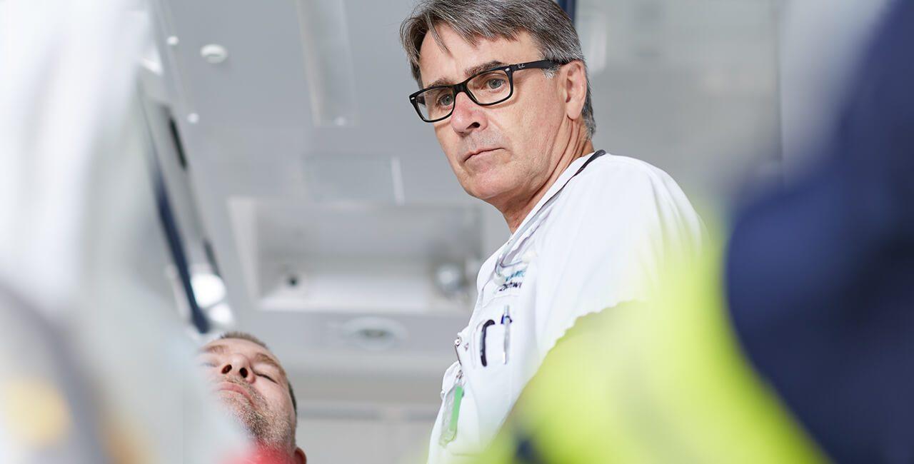 Ambulanz in der Beckerklinik