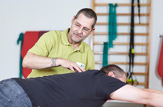 Reha-Übungen in der Beckerklinik
